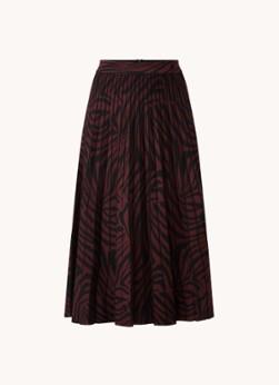Ted Baker Viviynn fijngebreide rok met plissé