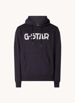G-Star RAW Hoodie met logoprint