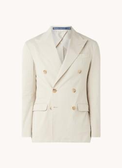 Ralph Lauren Double-breasted mantel met klepzakken