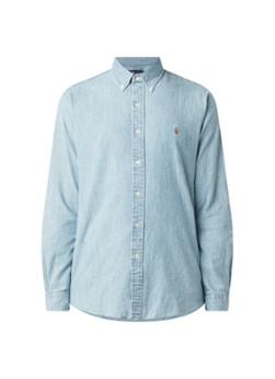 Ralph Lauren Custom fit button down-overhemd van denim