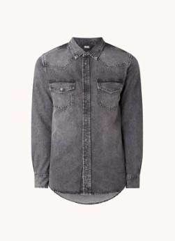 Diesel D-East regular fit overhemd van denim