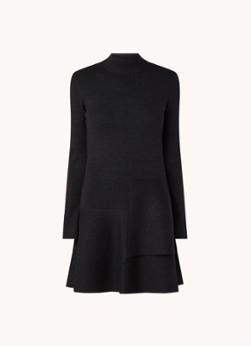 HUGO BOSS Fien mini trui-jurk in wolblend met lurex