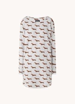 Snurk James nachthemd met print