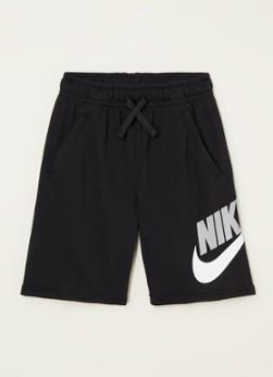 Nike Sportswear Club sweatshorts met logoprint