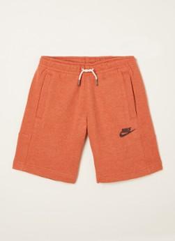 Nike Sweatshorts met steekzakken en logoprint