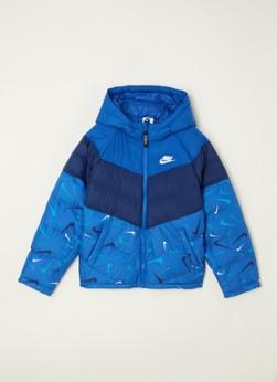 Nike Synfil gewatteerde jas met logoprint