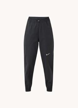 Nike Swoosh high waist tapered fit cropped joggingbroek met logo
