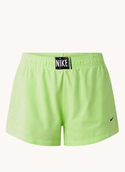 Nike High waist straight fit trainingsshorts met steekzakken