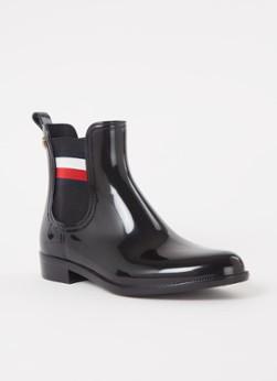Tommy Hilfiger Laarzen Corporate Ribbon Rai Zwart online kopen