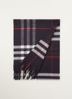 BURBERRY The Classic Check sjaal van kasjmier  x  cm