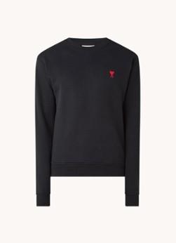 Ami Sweater met logoborduring
