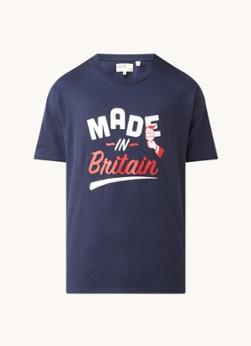 Ted Baker Newingt T-shirt met frontprint