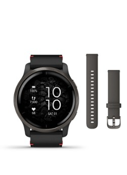 Garmin Venu  slate rvs bezel smartwatch --