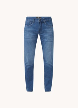 For All Mankind Slimmy slim fit jeans met stretch