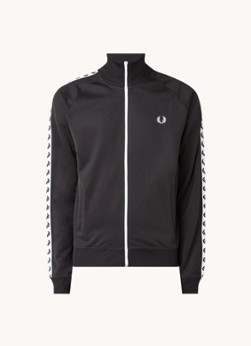Fred Perry Sweatvest met logoband
