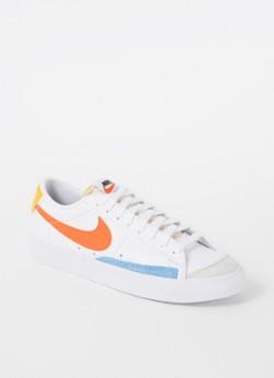 Nike Blazer Low '77 sneaker van leer