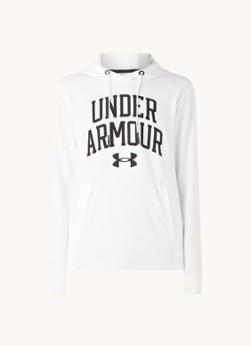 Under Armour Rival Terry Collegiate trainings hoodie met logoprint