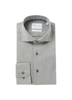 Michaelis Slim fit strijkvrij overhemd met microdessin