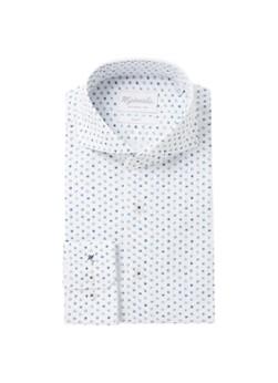Michaelis Slim fit overhemd met stippenprint