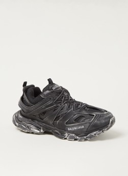 Balenciaga Track Faded sneaker met mesh details
