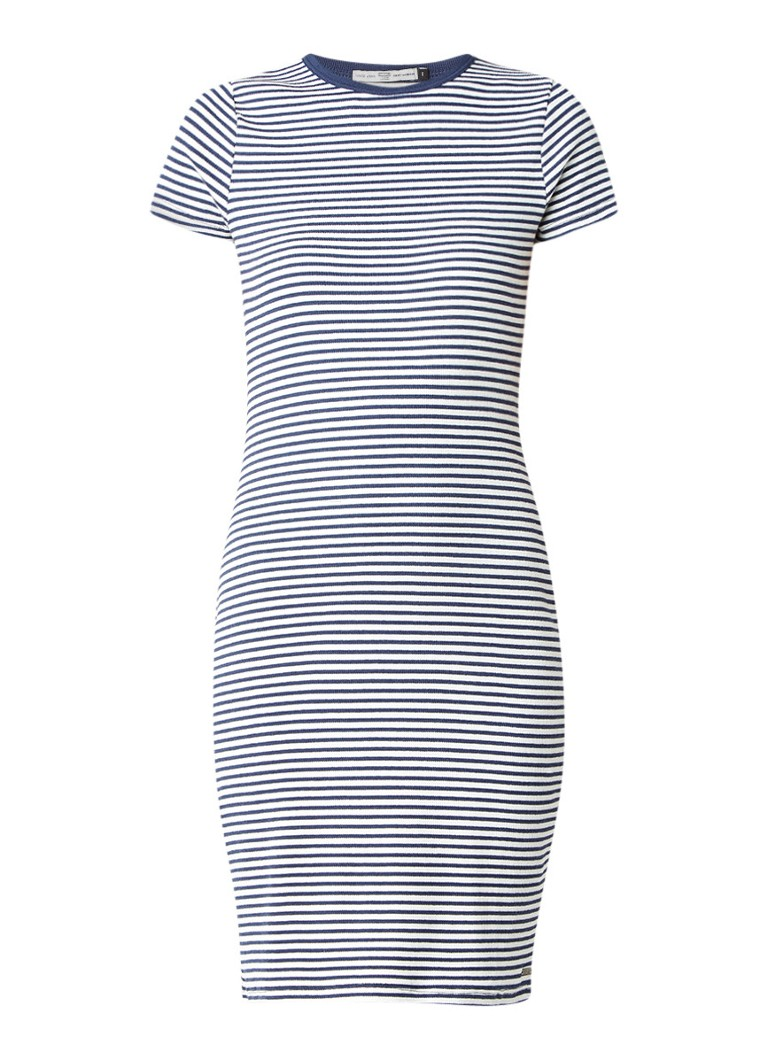 America Today Debby jurk van jersey met streepdessin