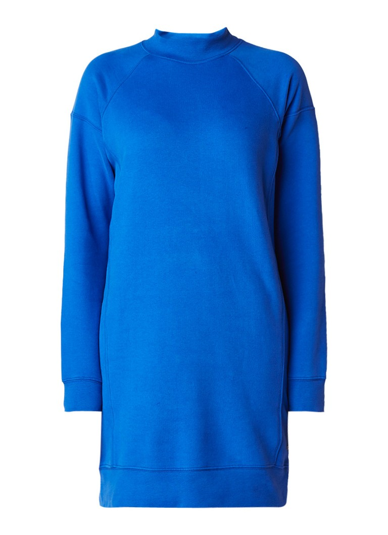 America Today Dore loose fit sweaterjurk kobaltblauw