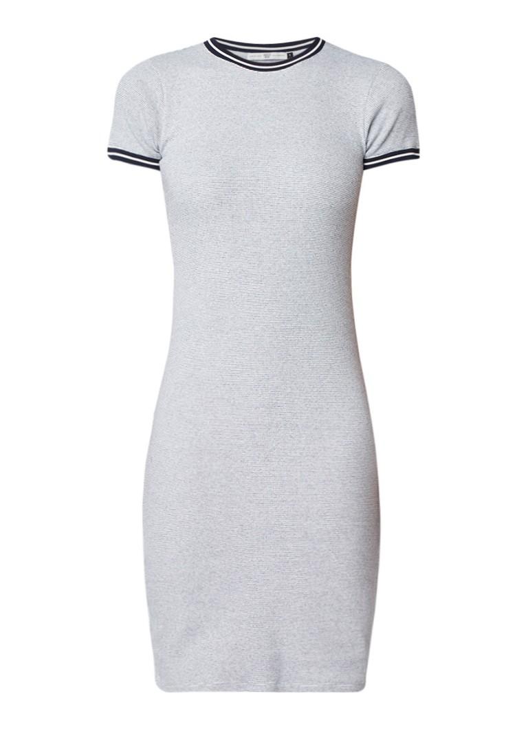 America Today Dibby midi-jurk van jersey legergroen