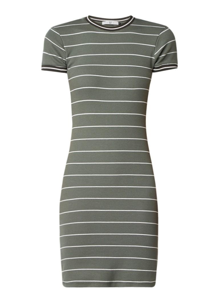 America Today Dibby midi-jurk met contrasterende boord