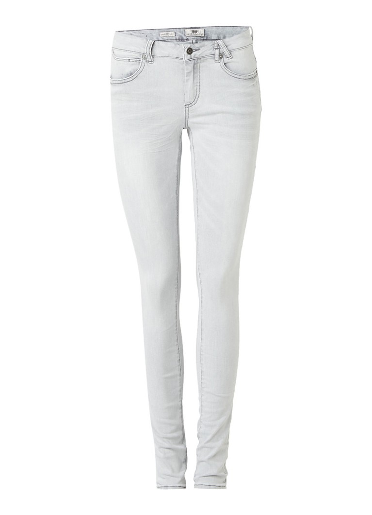 America Today Jane mid rise skinny jeans met lichte wassing
