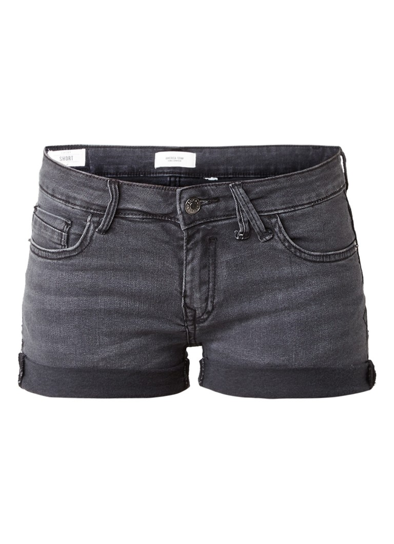 America Today Lacey denim shorts