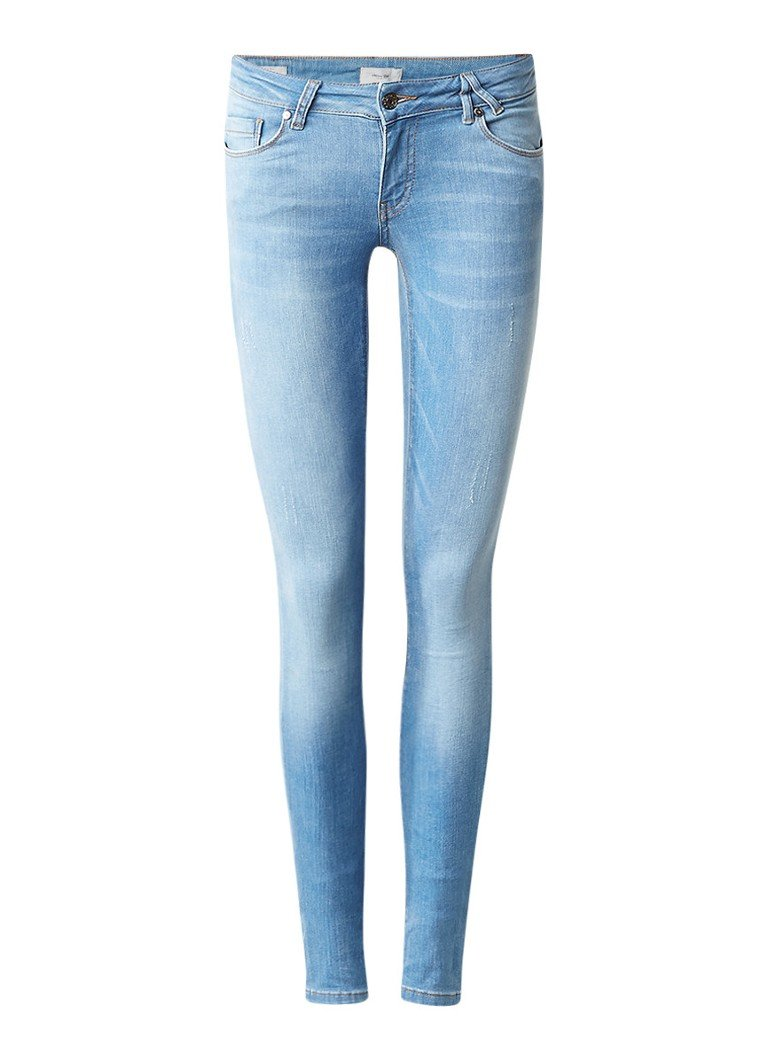 America Today Selma skinny fit jeans in lichte wassing