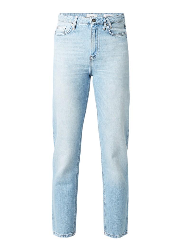 America Today Jadan mom jeans met lichte wassing