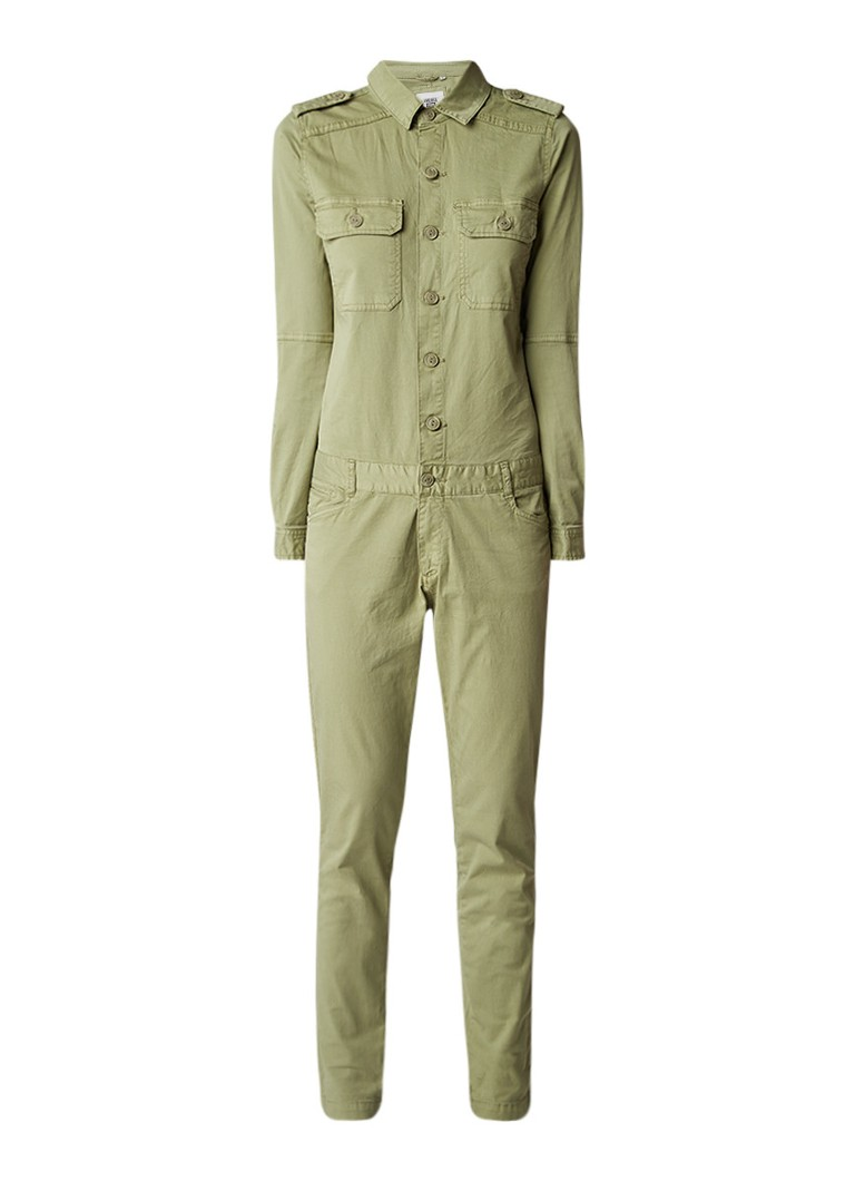 America Today Nara skinny fit cargo jumpsuit