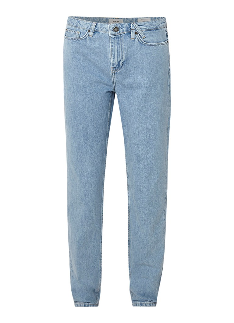 America Today Jadan high rise mom jeans met lichte wassing
