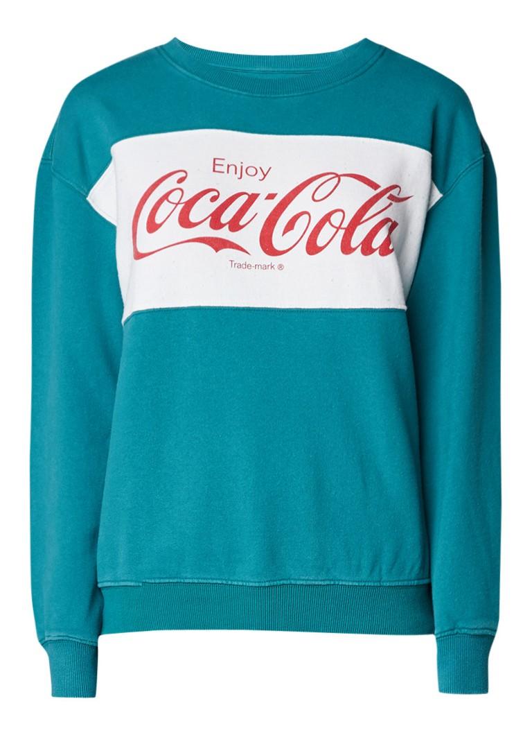 America Today Sarah sweater met Coca-Cola print