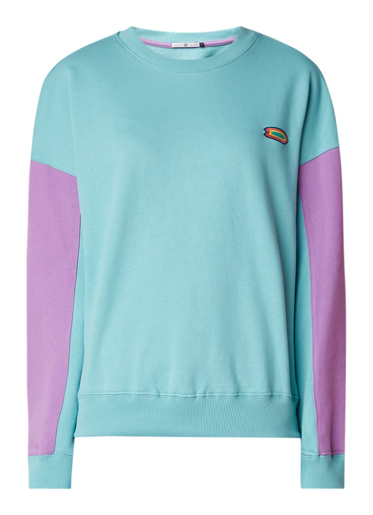 America Today Soul sweater met colour blocking