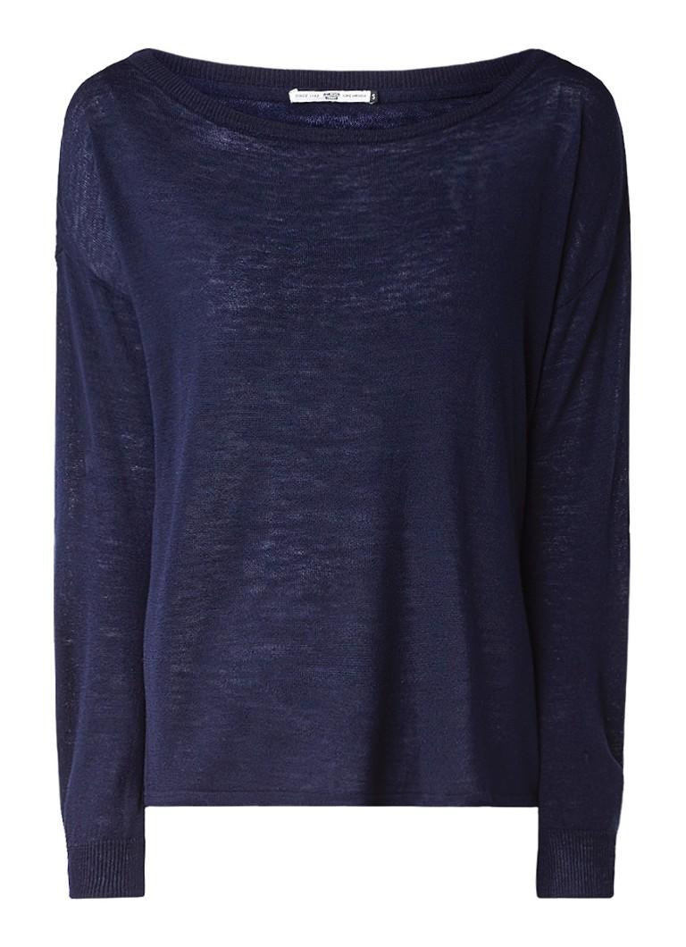 America Today Kiska loose fit fijngebreide pullover