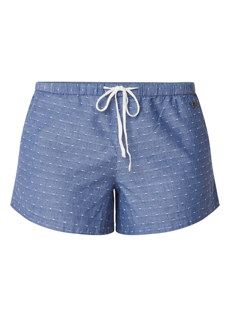 America Today Lolly lounge shorts met contrasterend koord