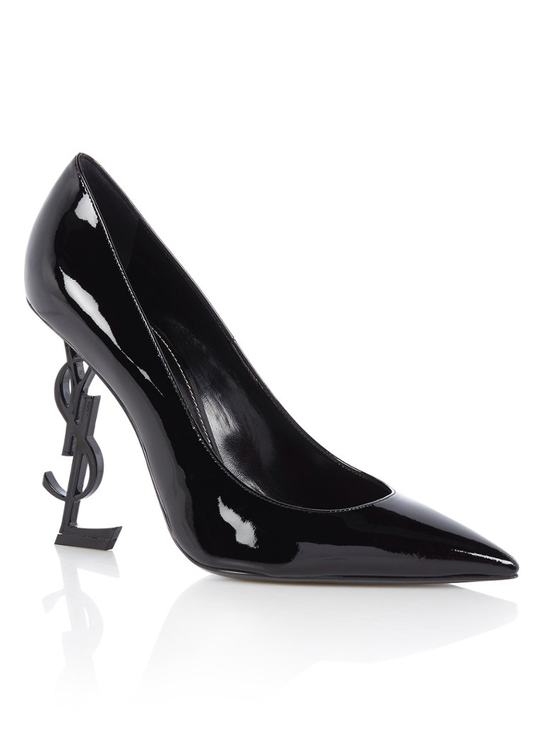 Saint Laurent Opyum 110 pump van lakleer