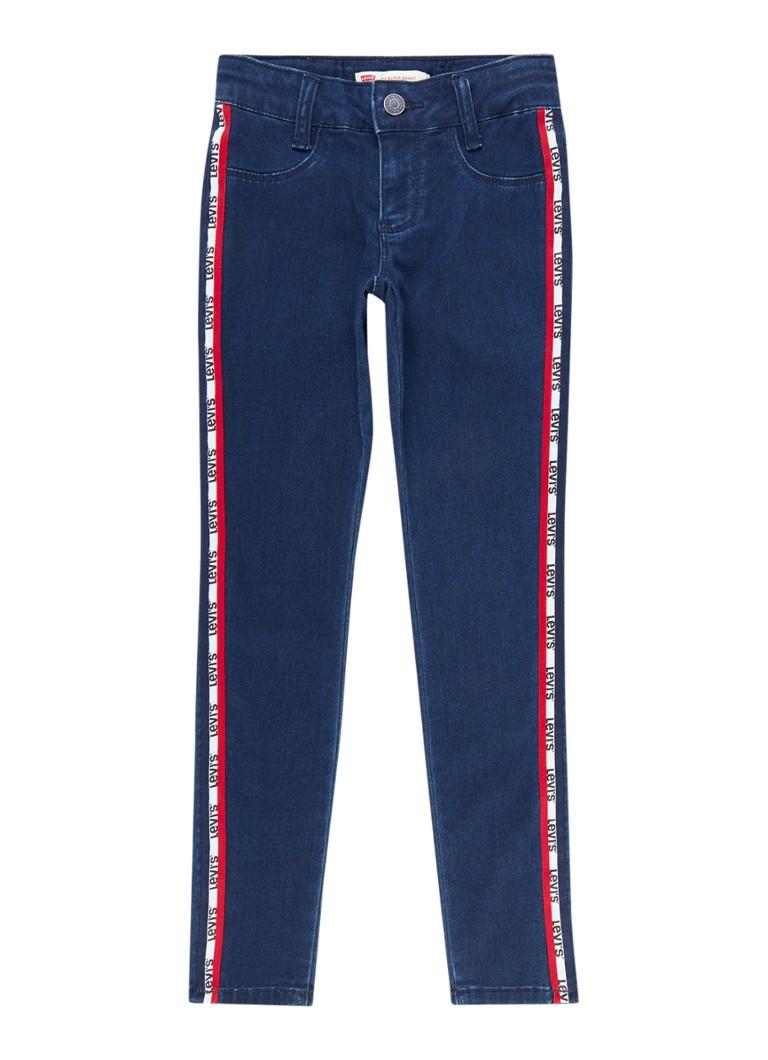 Levi's 710 super skinny fit jeans met contrastbies
