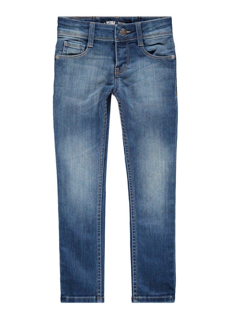 Levi's Skinny fit jeans met lichte wassing