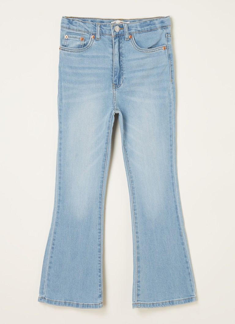 Levi's High waist flared fit jeans met stretch