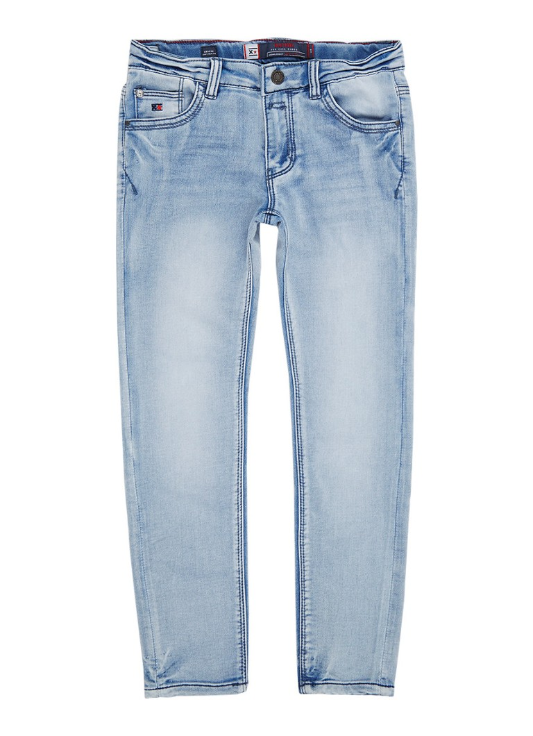 Blue Rebel Groove comfy slim fit jeans met verwassen look