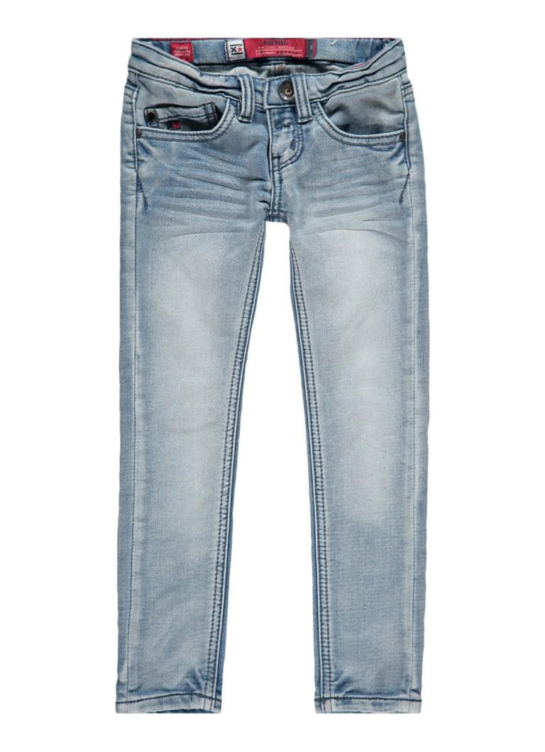Blue Rebel Pyrobe ultra skinny fit jeans met stretch