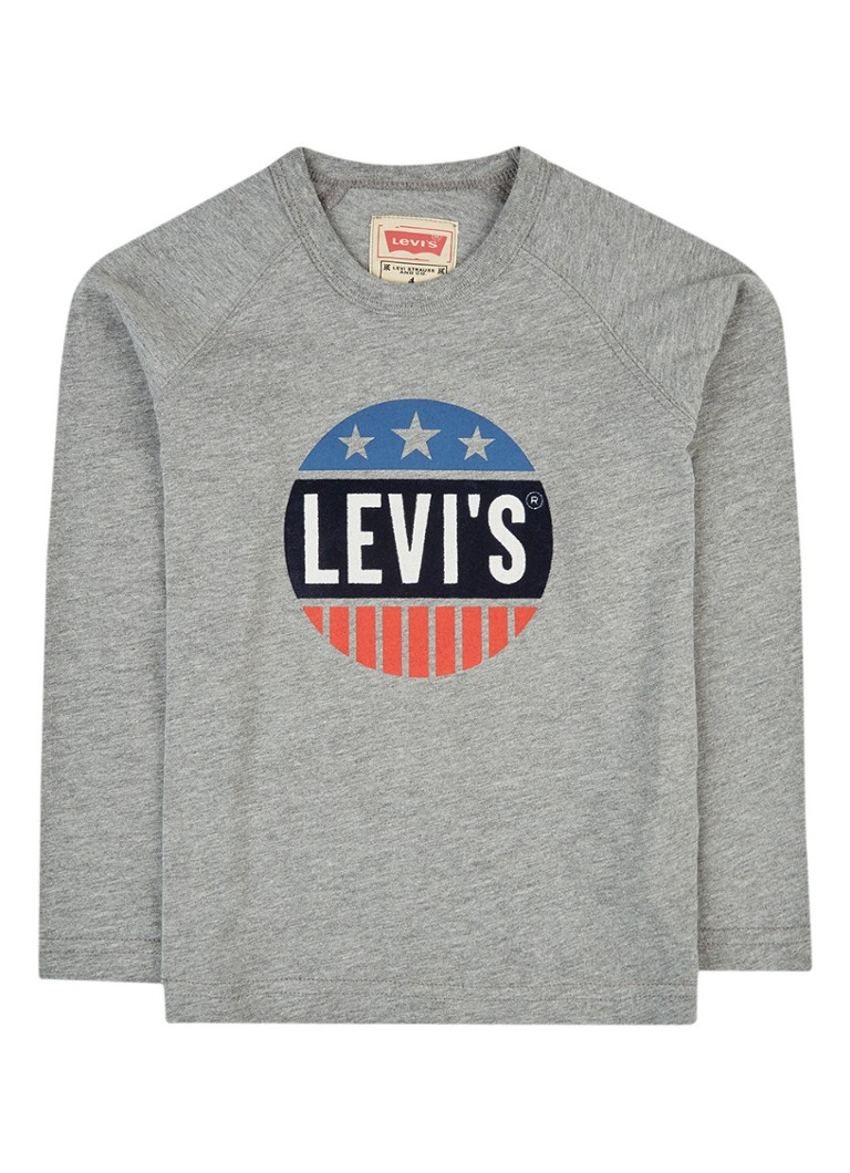Levi's Longsleeve met flockprint