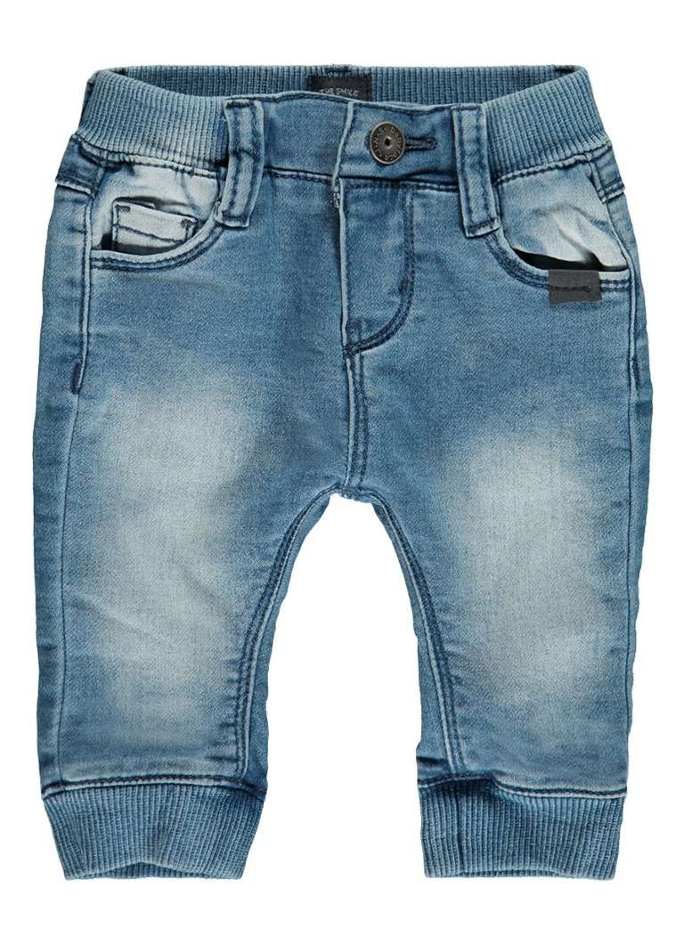 Babyface Joggjeans met faded look