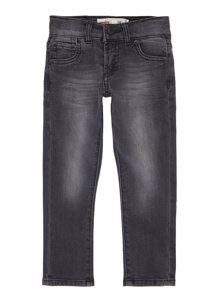 Levi's 510 Skinny fit jeans in medium wassing