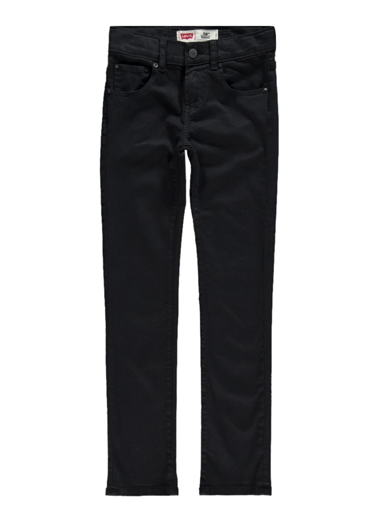 Levi's 510 skinny fit jeans in donkere wassing