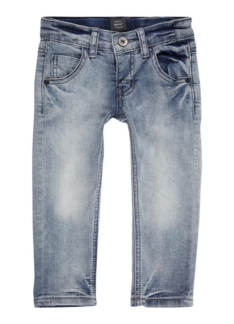 Babyface Wolf slim fit jeans met lichte wassing