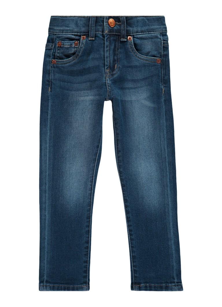 Levi's 510 skinny fit jeans met faded look
